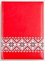 Ежедневник Leo Planner A5 дат. Folklore красный, фото 1