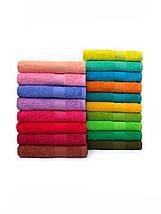 Махровые полотенца для гостиниц зеленого цвета, фото 3