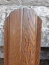 Евроштакетник металлический штакетник светлое дерево 3д