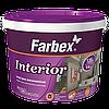 Interior Краска интерьерная высококачественная водно-дисперсионная акриловая Farbex  белая матовая 14,0 кг