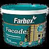 Facade Краска фасадная высококачественная водно-дисперсионная акриловая Farbex белая матовая 1,4 кг