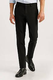 Мужские классические брюки Finn Flare A19-42019-200 прямые черные
