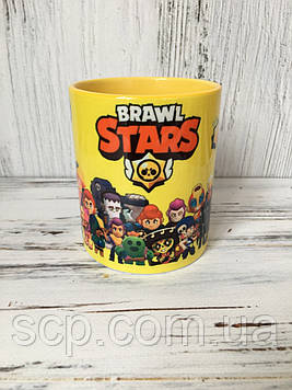 Чашка Brawl Stars (Бравл Старс)