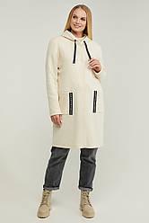 Кардиган женский удлиненный,трикотаж 40% шерсти, батал Фокс | 50, 52, 54, 56, 58, 60 размер