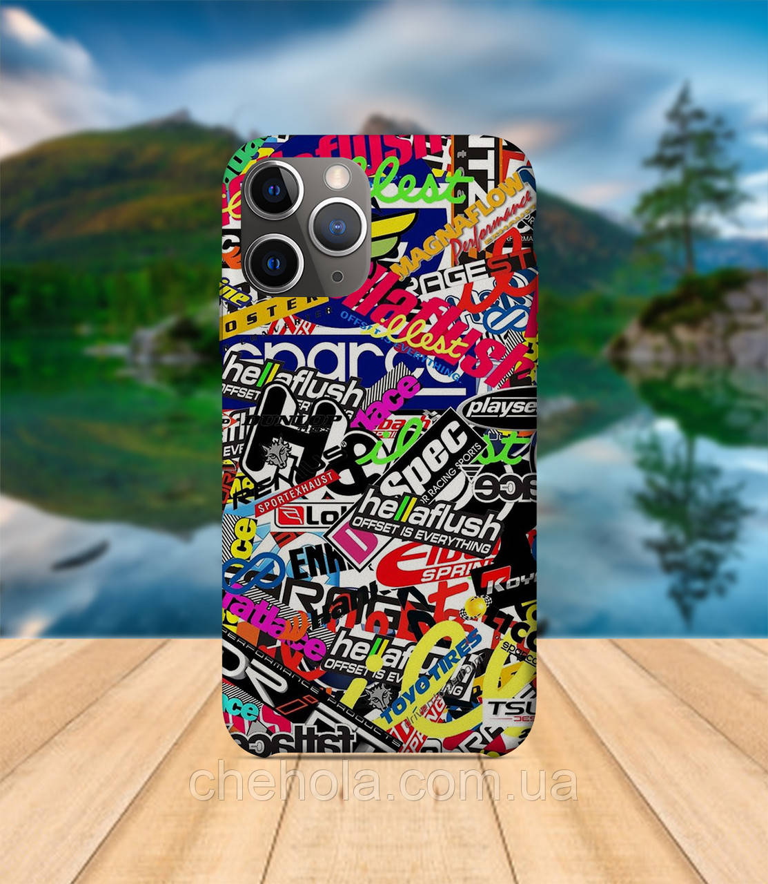 Чехол iPhone 11 PRO MAX Тюнинг авто с принтом