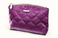 Косметичка стёганая, цвет фиолетовый BH Cosmetics Оригинал