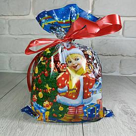 Упаковка под конфеты 20см 30см Снегурочка и подарки (100 шт)