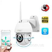Уличная поворотная камера IP камера Smart UKC V380 WIFI 2мп.