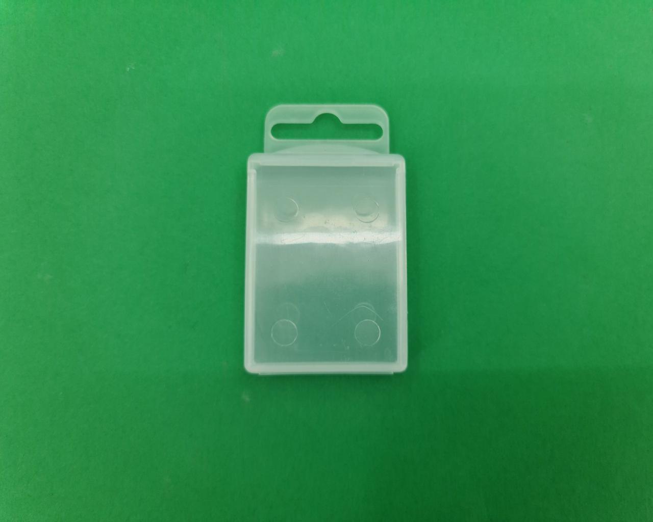 Коробка п / э с европодвесом 1 секция 54х40х14мм (50 шт)