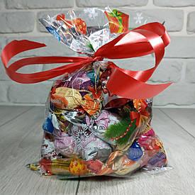 Новогодняя подарочная упаковка для конфет 20см 30см Игрушки (100 шт)