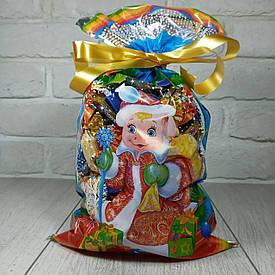 Новогодняя подарочная упаковка для конфет 20*35 Поросенок (100 шт)