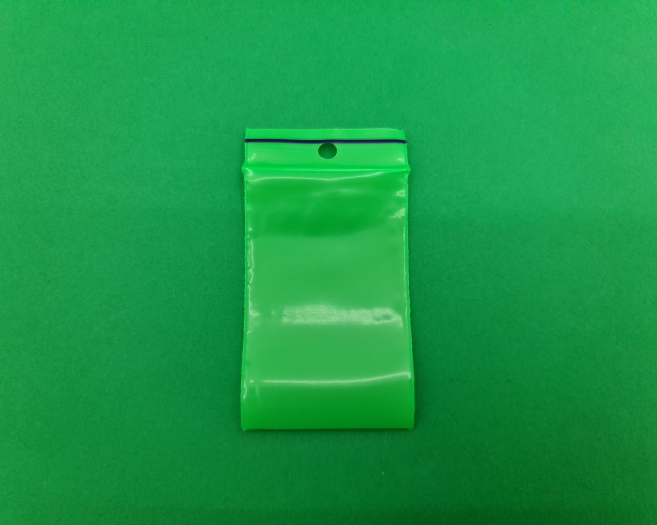 Пакет с замком zipp 4x6 салатовый (50шт) (1 пач)
