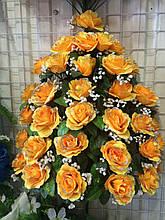 """Букет искусственный """"Розы VIP-36"""" 36 цветков, 12 см, 72 см (6 видов)"""
