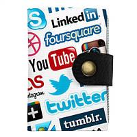 Визитница Социальные сети