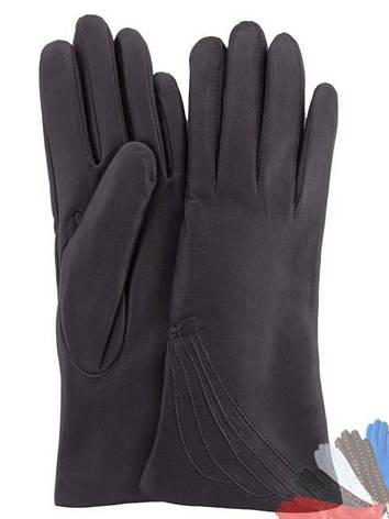 Жіночі рукавички з натуральної шкіри модель 042 на вовняної підкладці, фото 2