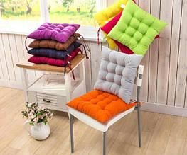 Подушки на стулья и мягкие чехлы на табуреты