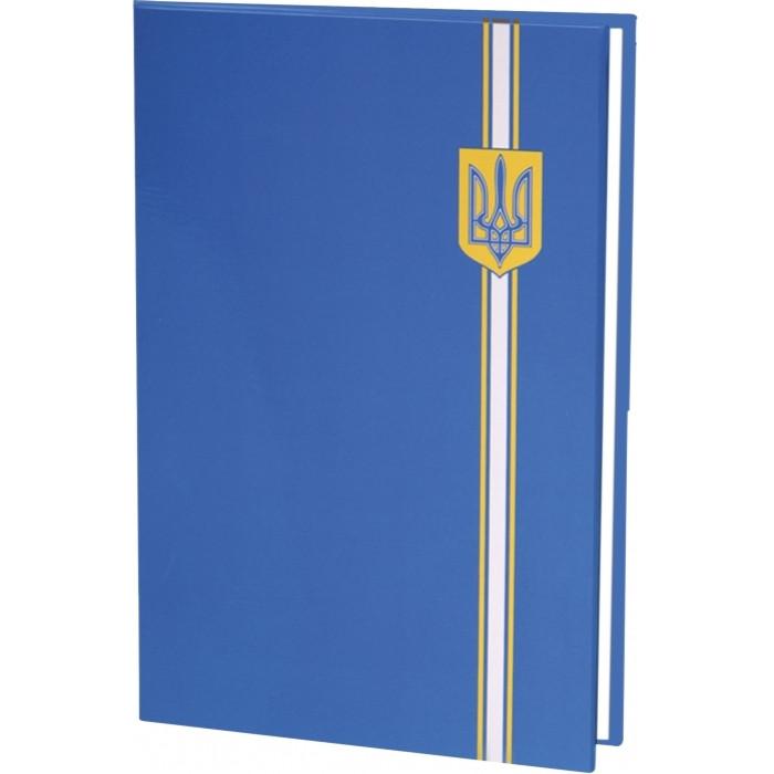 "Папка ""До підпису"" Герб Е30901-02 Синя"