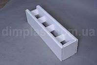 Термоблок стеновой торцевой  остача 312 шт 1000 х 250 х 250 мм ПСБ-25