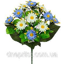 """Букет искусственный """"Хризантемы"""" 12 цветков, 5 см, 42 см (5 видов)"""