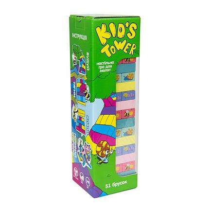 Kid's Tower настільна гра джанга бруска 54, фото 2