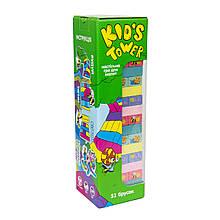Kid`s Tower настольная игра джанга 54 бруска