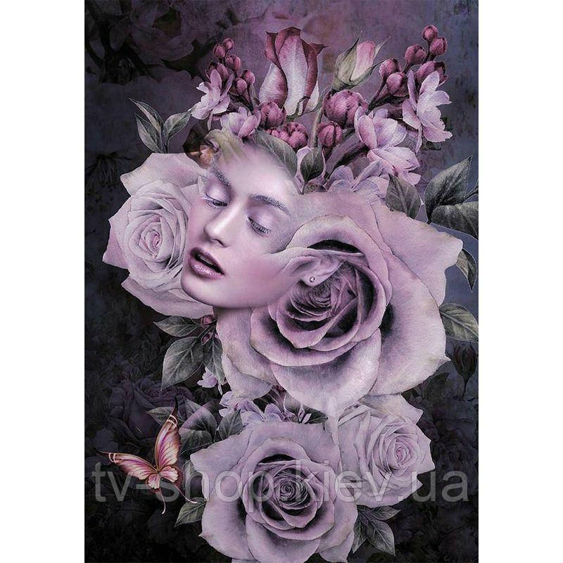 "Картина по номерам ""Королева роз"" Riviera Blanca, 40 х 50  см"