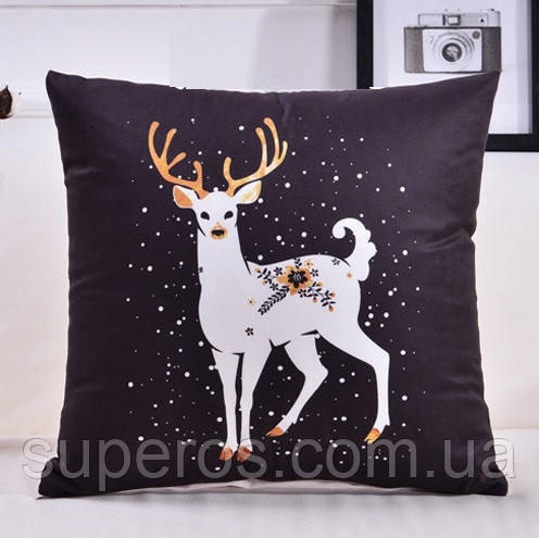 Декоративная подушка (наволочка) Коллекция Deer #5
