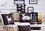 Декоративна подушка (наволочка) Колекція Deer #11, фото 4