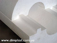 Утеплитель для труб диаметром 20мм толщиной 40мм, Скорлупа СКП204035 пенопласт ПСБ-С-35