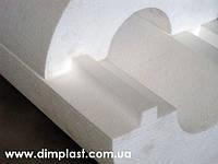 Утеплитель для труб диаметром 20мм толщиной 80мм, Скорлупа СКП208035 пенопласт ПСБ-С-35