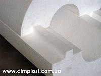Утеплитель для труб диаметром 25мм толщиной 30мм, Скорлупа СКП253035 пенопласт ПСБ-С-35