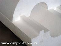 Утеплитель для труб диаметром 25мм толщиной 40мм, Скорлупа СКП254035 пенопласт ПСБ-С-35