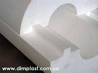 Утеплитель для труб диаметром 25мм толщиной 50мм, Скорлупа СКП255035 пенопласт ПСБ-С-35