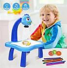 ОПТ Дитячий стіл проектор для малювання з підсвічуванням, фото 2