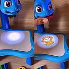 ОПТ Дитячий стіл проектор для малювання з підсвічуванням, фото 9