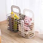 ОПТ Складная корзина для хранения белья органайзер, фото 9