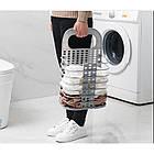 ОПТ Складная корзина для хранения белья органайзер, фото 3