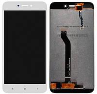 Дисплей Xiaomi Redmi 5A (MCI3B), Redmi GO (MZB7184IN) OR (Service Pack) complete White