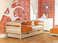 """Одноярусная кровать из дерева """"Нота+"""""""