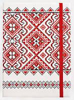 Ежедневник Leo Planner A5 недатированный Vyshyvanka 251665 белый, фото 1