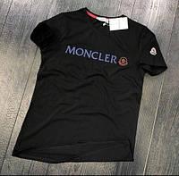 Футболка мужская черного цвета replica luxe M