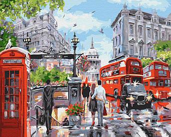 Картина малювання за номерами GX32733 Літо в Лондоні 40х50см набір для розпису по цифрам