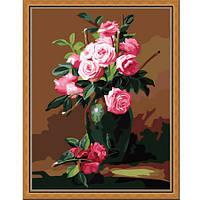Букет из чайных роз
