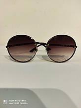 Модные круглые солнцезащитные очки, качественные солнцезащитные очки от солнца c градиентом