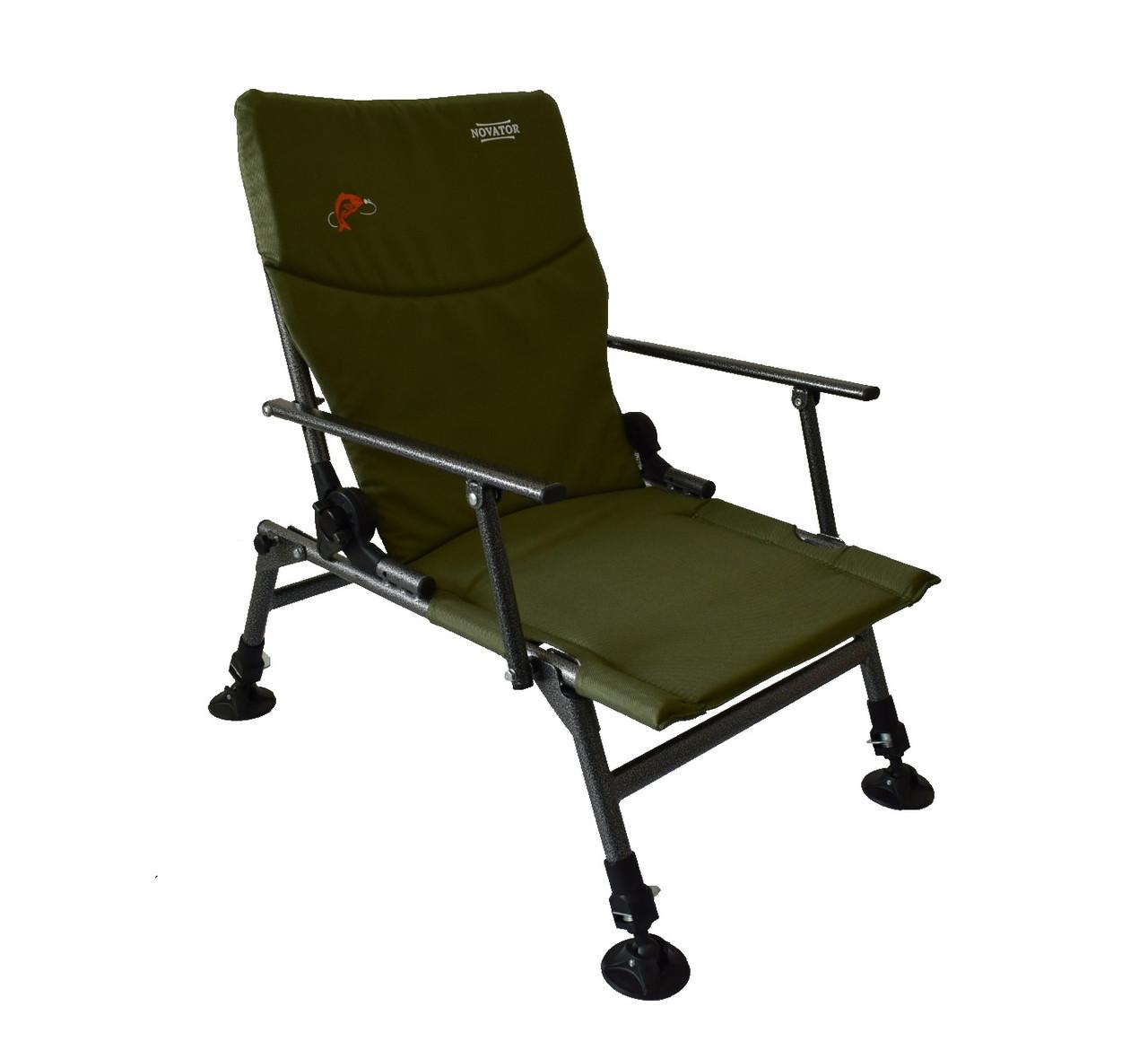 Крісло рибальське складне Novator SR-11 для пікніка риболовлі (Туристичне крісло)