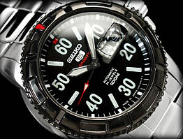 Часы Seiko 5 Sports SRP217K1 механика браслет