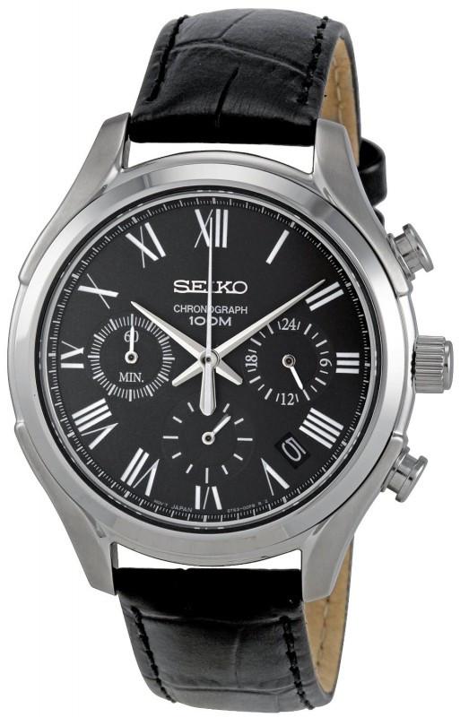Часы Seiko Chronograph SSB023P1 кварц.