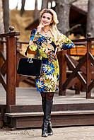 Платье женское демисезонное больших размеров