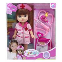 Кукла для девочек Доктор A301A с аксессуарами (Розовый)