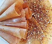 Фруктовая пастила домашняя Яблоко Грецкий орех натуральные конфеты жевательные , без сахара, без добавок 50г
